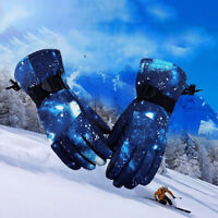 -30℃ Men Winter Thermal Ski Gloves Touch Screen Snow Warm Waterproof Outdoor NEW