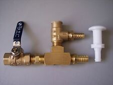 jet boat water pressure regulator kit with Ball Valve