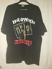 "Vintage WCW ""Hollywood Hogan"" N.W.O. Tshirt. Sz.XL"