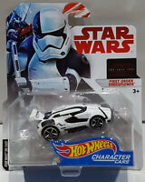 HOT WHEELS CHARACTER CARS STAR WARS THE LAST JEDI FIRST ORDER EXECUTIONER FJT82