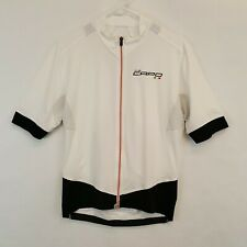 Capo Corsa CS Cycling Jersey Size XL White Full Zip Made in Italy
