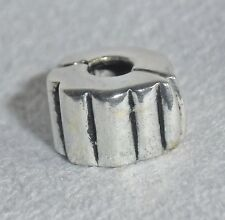 925 Sterling Silber Bead Charm Anhänger - Larenza - Stopper Clip Element + Etui