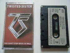 TWISTED SISTER YOU CAN'T STOP ROCK N ROLL CASSETTE TAPE '83 PAPER LABEL ATLANTIC