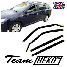 DDA13114  DACIA LOGAN MCV mk2 2013 -up WIND DEFLECTORS 4pc HEKO TINTED