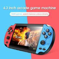 4.3'' Retro Handheld Game Console Portable Video Game Built In 10000+ Games