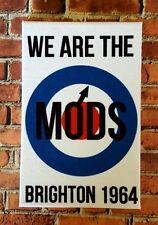 SIAMO I MODS-Brighton 1964-muro tela