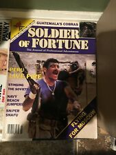 Soldier of Fortune march 1989