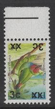 FIJI SGF1314a 2006 3c on 1c BIRDS TYPE Ia OPT DOUBLE, ONE INVERTED MNH