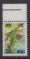 Fidji SGF1314a 2006 3 C SUR 1 C oiseaux TYPE IA OPT double, un inversé neuf sans charnière