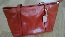 Radley burnt orange leather bag medium