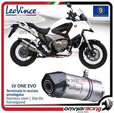 Leovince LV ONE Echappement acier Honda VFR 1200 X CROSSTOURER/DCT/XD 2012>2015