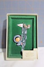 """1982 Hallmark QX4523 """"Frosty Friends -  3rd  Icicle"""" Ornament"""