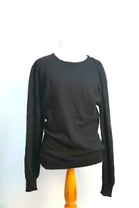 PRINGLE of SCOTLAND Womens Cashmere  Size Medium Black