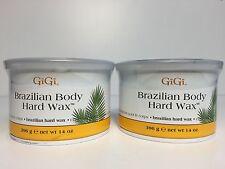 2 PACKS - GiGi Brazilian Body Hard Wax, 14 Ounce