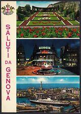 AD5105 Saluti da Genova - Vedute - Cartolina postale - Postcard