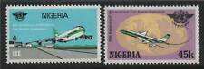 Nigeria 1984 Civil Aviation SG 488/9  MNH