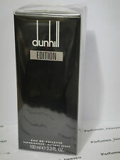 Dunhill Edition EDT SPRAY 3.3 oz / 100 ML by ALFRED DUNHILL FOR MEN * Sealed *