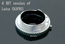 6 bit 10mm extension tube ring for Leica OUFRO 16469Y M M240 type M6 M7 M8 M9 P