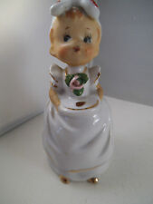 Vintage Figural Lady Chef Cook Maid Napco Japan ?