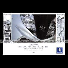 Brochure SCOOTER PEUGEOT SATELIS 125, COMPRESSOR, 250, 400 & 500 2008 #BM153
