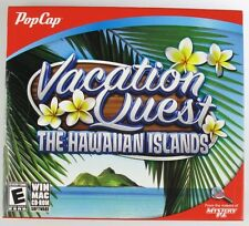 PopCap Vacation Quest THE HAWAIIAN ISLANDS PC/MAC Software Games