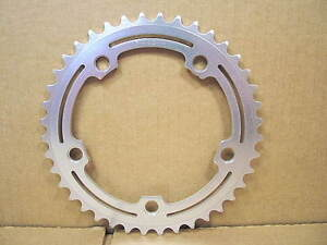 """New-Old-Stock SR (3/32"""") Alloy Chainring (40T and 118 mm BCD)"""