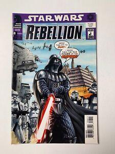 Star Wars Rebellion #8 (Dark Horse Comics, 2007) VF/VF+