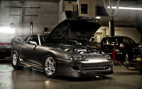 """TOYOTA SUPRA DRAGSTER A4 POSTER GLOSS PRINT LAMINATED 11.7""""x7.3"""""""