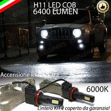 LAMPADE FENDINEBBIA H11 LED CANBUS JEEP RENEGADE 6000K 6400 LUMEN