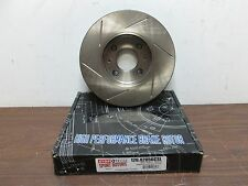 NEW StopTech Power Slot Cryo Slotted Sport Brake Rotor Front FREE SHIPPING