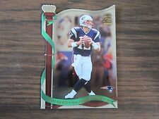 2002 Crown Royale # 80 Tom Brady Card New England Patriots (B2)