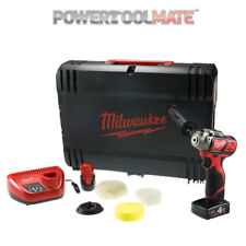 Milwaukee M12BPS-421X 12 V compacto Pulidora/Lijadora 1 X 4.0ah/1 X 2.0ah Kit
