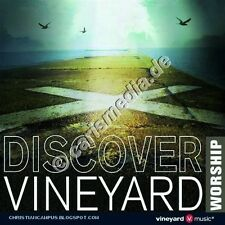 CD: Discover Vineyard Worship UK-from the Curch for the Curch * NUOVO *