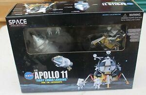 "NASA APOLLO 11 ""LUNAR LANDING"" CSM-COLUMBIA, LM-EAGLE, ASTRONAUTS MODEL #50391"