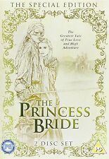 The Princess Bride (2008) Cary Elwes, Peter Falk, Mandy Patinkin NEW UK R2 DVD