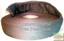 Lustersheen Oil Free Steel Wool 13 LB Reel Grade #1 or #2 or #3 or #4