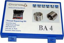 THREAD REPAIR KIT 4 BA SUITS HELICOIL INSERTS ETC FROM CHRONOS