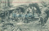 WW1 Battle Of YSER October 1914  Belgian Artillery battle scene ,Unposted