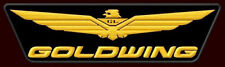 """HONDA GOLDWING XL EMBROIDERED BACK PATCH~11-3/4""""x 3-1/4"""" MOTORCYCLE TOURING BIKE"""