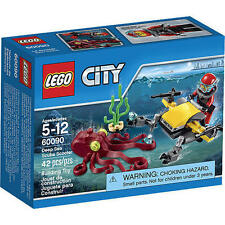 60090 DEEP SEA SCUBA SCOOTER city town lego legos set NEW sealed OCTOPUS