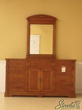 42352: LEDA French Louis XVI Style Cherry Dresser w. Mirror ~ NEW