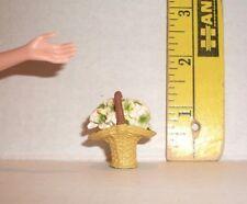 V138 Dollhouse Bamboo Sieve Bowl Basket Kitchen Miniature re-ment 1:12