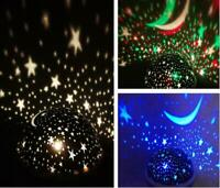 LED Starry Night Sky Projector Lamp Romantic Star Light Cosmos Master Kids Gift
