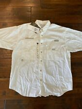 Nwt Columbia Pfg Short Sleeve Ventilated Shirt Size Med with Custom Benelli Logo