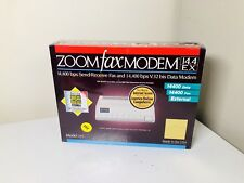 NEW IN SEALED BOX - EXTERNAL ZOOM FAX MODEM V.32 MODEL 165 14,400bps