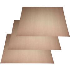 3x Dauerbackfolie Dauerbackpapier Teflon Backpapier Backtrennfolie 33x40cm 260 C