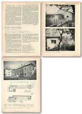 1955 Braille Printing Works In Edinburgh, Design, Plans