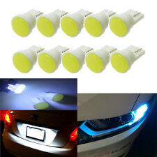 50PCS White T10 Car LED W5W 168 LED Dome Map Side Plate License Decoration Light