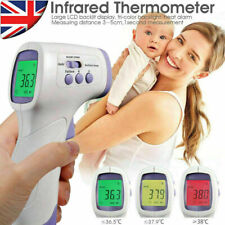 IR Infrared Digital Non-Contact Forehead Thermometers Adult-Baby Temperature Gun