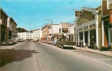 Troy Pennsylvania~Canton Street~The Clothes Shop~Zenith~Restaurant~1960s Cars
